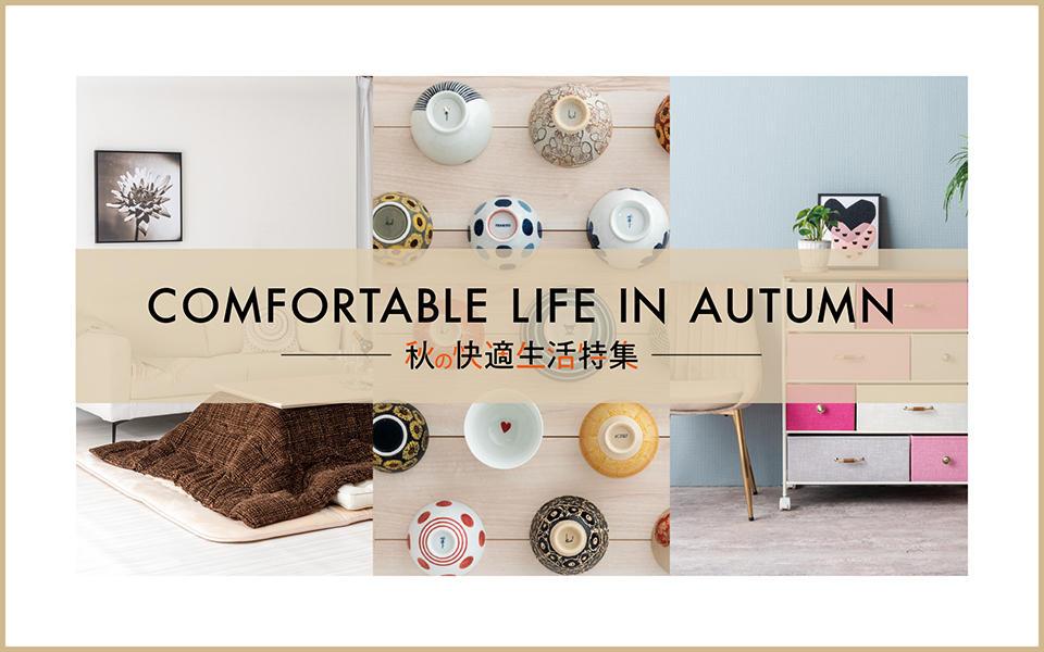 秋の快適生活特集
